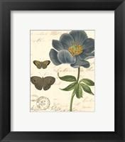 Small Vintage Floral I Framed Print