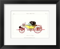 Antique Carriage I Framed Print