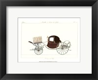Antique Carriage IV Framed Print