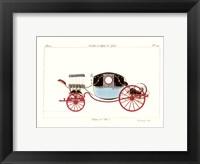 Antique Carriage VI Framed Print