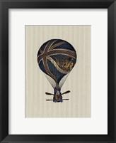 Vintage Ballooning IV Framed Print