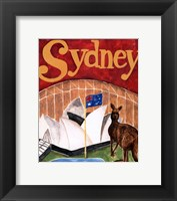 Framed Sydney (A)