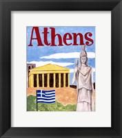 Framed Athens (A)