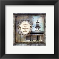 Framed Florida Lighthouse IV