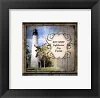 Framed Florida Lighthouse VI