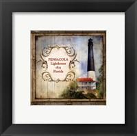 Framed Florida Lighthouse VII