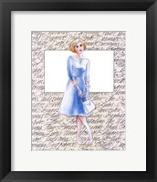 50's Fashion VIII Framed Print