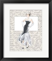 50's Fashion IX Framed Print