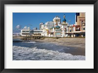 Framed Boardwalk Casinos, Atlantic City, New Jersey, USA