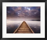 Lake Walk III Framed Print