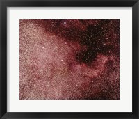 Framed North America Nebula In Cygnus