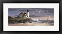 Framed Lighthouse - Dusk  (verse)