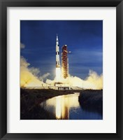 Framed Apollo Saturn V