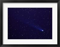 Framed Comet Kohutek January 14, 1974