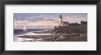 Framed Lighthouse - Dawn (verse)