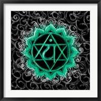 Framed Anahata - Heart Chakra, Flawless