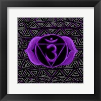 Framed Ajna - Third Eye Chakra, Awareness