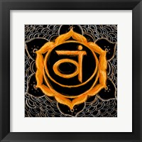 Svadhisthana - Sacral Chakra, Sweetness Framed Print