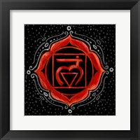 Framed Muladhara - Root Chakra, Support