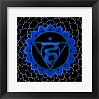 Framed Vishuddha - Throat Chakra, Purity