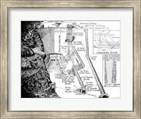 Framed Hoover Dam Diagram