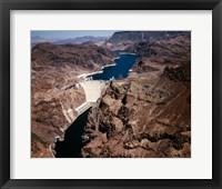 Framed Above Hoover Dam near Boulder City, Nevada