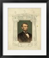 Framed Abraham Lincoln - framed