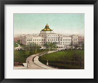 Framed Library of Congress