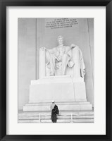 Framed Lincoln Memorial