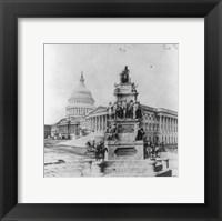 Framed Lincoln Monument