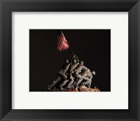 Framed Iwo Jima Memorial I
