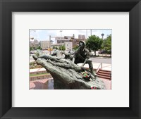 Framed San Antonio Texas Vietnam Veterans Memorial