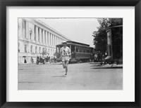 Framed Elphinstone Winning Washington Marathon