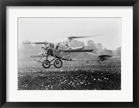 Berliner Helicopter Framed Print