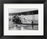 Framed Allied Aircraft Closeup