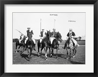 Edwards Freake and others Polo Framed Print