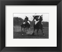 Framed This was the first match of the War Dept. Polo Association Tournament