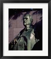 Framed Franklin Delano Roosevelt Memorial Washington, D.C. USA