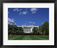 Framed White House, Washington, D.C., USA