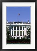 Framed White House, Washington D.C., USA