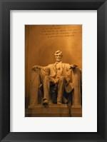 Framed USA, Washington DC, Lincoln Memorial