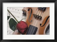 Framed Violin