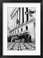 Framed Wall Street