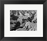Grand Canyon canyon and ravine Framed Print
