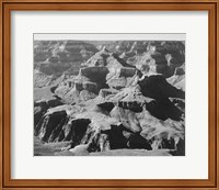 Framed View of rock formations, Grand Canyon National Park,  Arizona, 1933