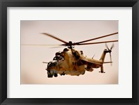 Afghan Air Corps Mi-35 on Kandahar, 2009 Framed Print