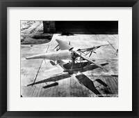 Framed Curtiss Bleeker Helicopter