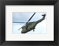 RAF Westland SA-330E Puma HC1 Framed Print