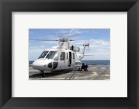 Royal Thai Navy Sikorksy S-76B Framed Print