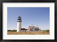 Framed Lighthouse in a field, Cape Cod Lighthouse (Highland), North Truro, Massachusetts, USA